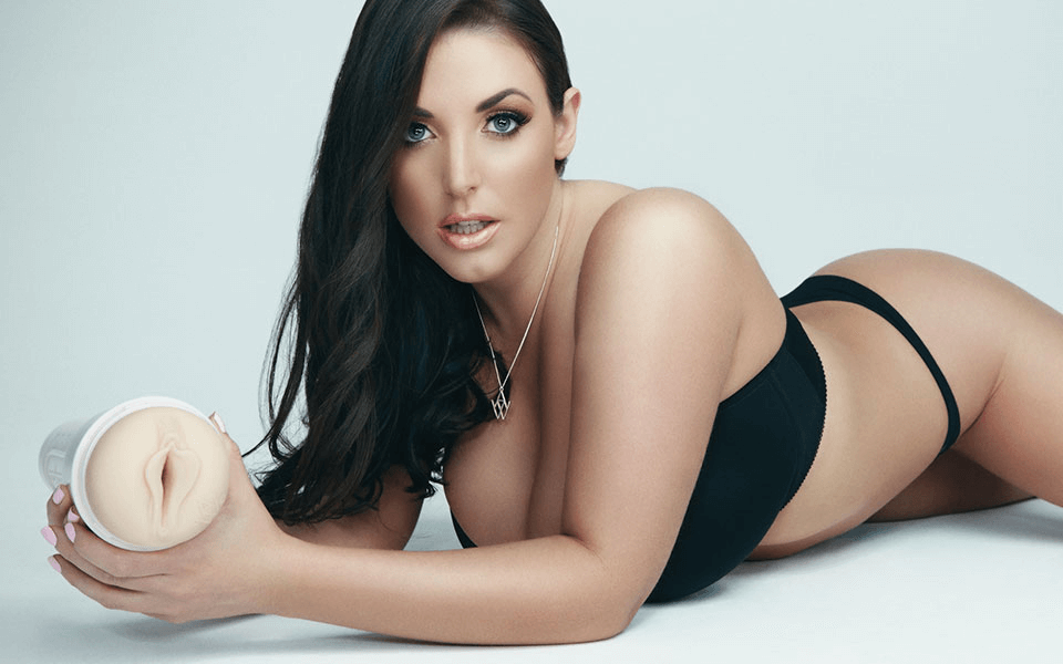 Angela White Fleshlight Shooting