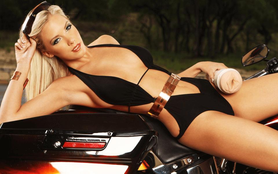 Bibi Jones Fleshlight Shooting