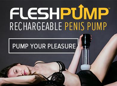 FleshPump - die wiederaufladbare Penispumpe