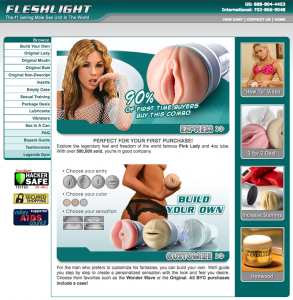 2005: Official Fleshlight Website