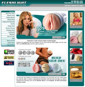 2005: Official Fleshlight Website